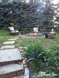 Round Stone Patio Table by Patio Ideas Building Fire Pit On Paver Patio Diy Fire Pit Patio