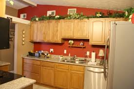 amazing red walls in kitchen back gallery for red accent wall