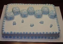 oh boy half sheet cake u2014 baby shower baby shower cakes