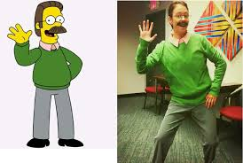 a 28 year old woman as ned flanders not too shabby rebrn com