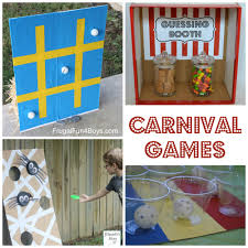 25 simple carnival games for kids carnival games gaming and