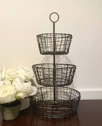 metal fruit basket best 25 wire fruit basket ideas on hanging fruit