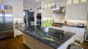 white kitchen cabinets with gold countertops black granite countertops styles tips infographic