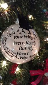 custom ornament lost loved one memorial ornament