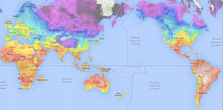 map world nz global temperature maps nz vs the rest of the world