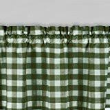 Hunter Green Kitchen Curtains by Amazon Com Gingham Valances Tiers Swags U0026 Valances Home