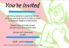 tinkerbell invitation show parties 5s