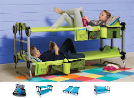 Bunk Bed With Sofa by Kid O Bunk Portable Bunk Bed Cot Couch Side By Side Cots Stuff