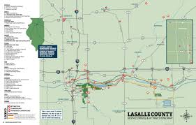 Lake County Illinois Map by Scenic Drives U0026 Attractions Map Enjoy Lasalle County