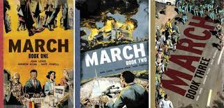 march book two congressman lewis s march dominates new york times bestseller