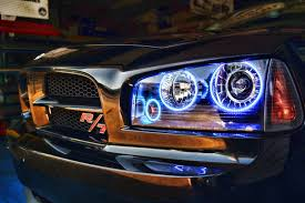 2008 dodge charger lights 2008 dodge charger rt halo ring mr kustom auto accessories and