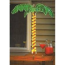4 5 tropical lighted holographic rope light outdoor