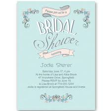 wedding shower invites cheap ba blue winter bridal shower invitation ewbs045 as low as