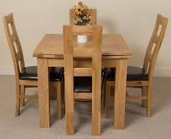 richmond small extending solid oak dining table 4 solid oak