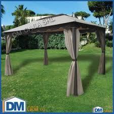 gazebo telo gazebo roma 3x4 ecr禮 struttura ferro telo pvc arredo giardino