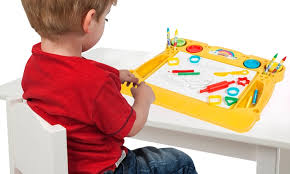 activity desk for play doh activity desk groupon