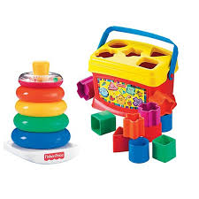 fisher price baby s blocks and rock a stack bundle bjt80