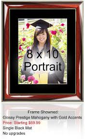 graduation frame 8 x 10 college graduation picture frame gold embossed