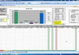 employee attendance tracking spreadsheet and 5 attendance record