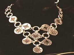 make silver necklace images How to make a chain link silver necklace hgtv jpeg