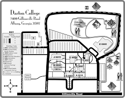 K State Campus Map by Darton College Campus Map Darton College Albany Ga U2022 Mappery