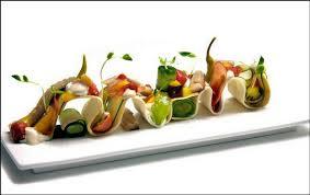 assiette de cuisine montagnes russes gustatives fête foraine du visions gourmandes