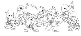 12 kids coloring pages lego ninjago print color craft