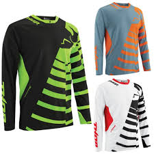 thor motocross jersey core orbit mens motocross jersey
