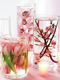 Cheap Easy Wedding Centerpieces by Diy Distilled Water Silk Flowers Dollar Store Vases Cheap And