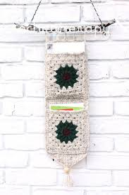 Crochet Patterns For Home Decor Best 25 Crochet Organizer Ideas On Pinterest Diy Crochet
