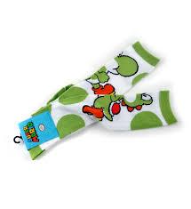 Super Socks Super Mario Brothers Yoshi Kneehigh Socks Ebay