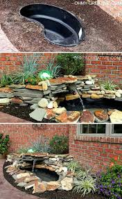 Backyard Feature Wall Ideas 26 Wonderful Outdoor Diy Water Features Tutorials And Ideas That