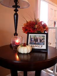 Centerpieces For Kitchen Table by How To Decorate End Tables Fall Centerpiece For The Coffee Table