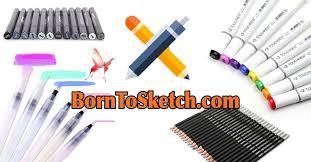 born to sketch 200 photos tools equipment