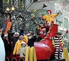 chicago thanksgiving day parade with rolando the clown coalition
