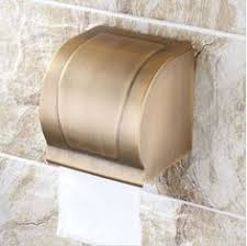 Covered Toilet Paper Holder Surface Mounted Covered Toilet Tissue Holder Tissue Holders