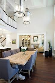 Pretty Chandeliers by Dining Room An Elegant Black Chairs With Simply White Table For