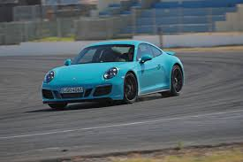 teal porsche 911 2017 porsche 911 carrera 4 gts review gtspirit
