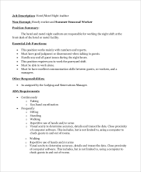 Front Desk Hotel Responsibilities Night Auditor Duties 6 Night Auditors Someone Who Enjoys Late