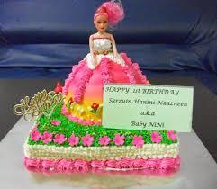 50 barbie birthday cakes ideas designs ibirthdaycake