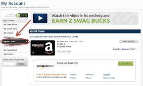 order gift cards swagbucks tips tricks how to redeem a gift card