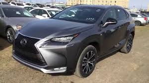 lexus midsize suv 2015 new grey on black 2015 lexus nx 200t awd f sport series 2 review