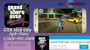 gta vice city apk data grand traffic auto vice city apk data install or