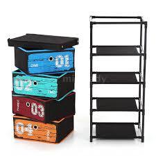 Schlafzimmer Schrank Und Kommode Stoff Kommode Schrank Schubladenschrank Aufbewahrungsbox Mit 4