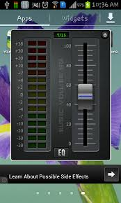 equalizer app for android free volume equalizer app for android to create custom presets