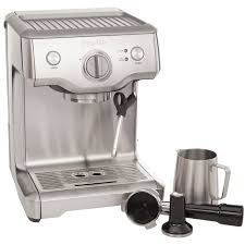 espresso maker how it works breville duo temp pro pump espresso machine bes810bssxl silver