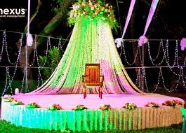 muslim wedding decorations flowers and south indian weddings theknotstory
