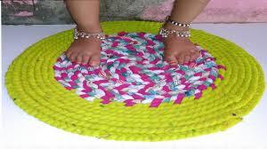 Long Doormats How To Make Doormat With Old Clothes How To Make Doormats At