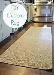 Diy Runner Rug Amazing Of Diy Runner Rug With Custom Runner Rugs Diy