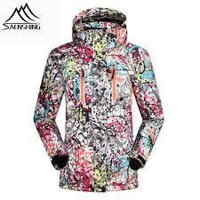Saenshing Winter Ski Jacket Women Waterproof Windproof Snowboard